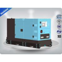 Four Cylinder Perkins Diesel Powered Generator 80Kw 100Kva , Self - Excited Control System Manufactures