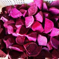 Buy cheap Fresh IQF Frozen Vegetables , Snap Frozen Natural Sweet Purple Potatoes from wholesalers