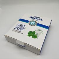 Quality Toothpaste Color Paper Box With 350g Single Copper Paper Material 16*4.4*19.8CM for sale