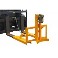 drum lifter forklift attachment , vertical drum lifter for machine maintenance Manufactures