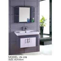 Buy cheap pvc hanging/floating/wall-mounted bathroom vanity/bathroom cabinet from wholesalers