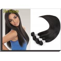 Unprocessed Virgin Peruvian Hair Extensions Silk Straight Style Manufactures
