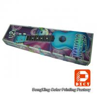 Quality Sturdy Custom Corrugated Cardboard Boxes Laser Colorful Printing For Guitar for sale