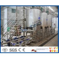SUS304 Stainless Steel Automatic Dairy Processing Plant Milk Processing Equipment High Efficiency Manufactures