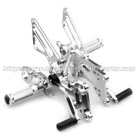 Cnc Milling Motorcycle Rear Sets Aluminum Rearset Motorcycle Parts Motorcycle Footpegs Manufactures