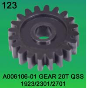 A006106-01 GEAR TEETH-20 FOR NORITSU QSS1923,2301,2701 minilab Manufactures