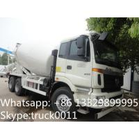 Quality 2017s new best price 8m3 FOTON ROWOR 6x4 concrete mixer truck for sale, factory sale good price cement mixer truck for sale