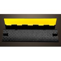 Single Cable Protection Removable Speed Bumps, Recycled Rubber Speed Bumps For Driveway Manufactures