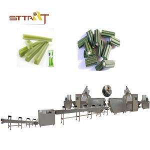 81kw Power Sus Dog Treats Production Machine / Dog Chews Making Machine Manufactures