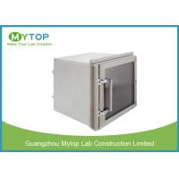 Lab 304 Stainless Steel Pass Box GMP Standard For Pharmaceutical Clean Room Manufactures