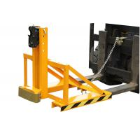 Horizontal Forklift Drum Lifter with Double Protection , 500Kg drum lifting equipment Manufactures