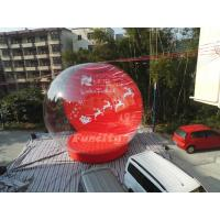 Buy cheap Outdoor Advertising PVC Tarpaulin EN15649 Inflatable Snow Globe For Christmas from wholesalers