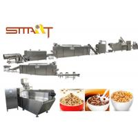 EN Standard Snack Food Extruder Machine , Automatic Puff Snack Production Line Manufactures