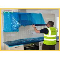 Buy cheap Temporary Protective Film For Kitchen Wall Clear Adhesive Surface Protection from wholesalers