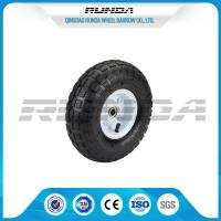 Comb Pattern 10 Inch Pneumatic Wheels Large Friction Against Tire Skidding Manufactures