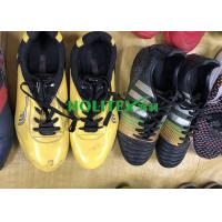 Colorful Second Hand Football Shoes / Used Football Shoes For Outdoor Sport Manufactures