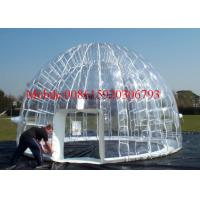 clear inflatable lawn tent transparent inflatable tent inflatable transparent bubble tent Manufactures
