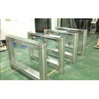 High Security Swing Barrier Gate Waterproof RIFD Smart Turnstile System