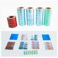 Cold Formed  Aluminum Alu - Alu Foil Medical Blister Packaging For Tablet , Capsule Manufactures