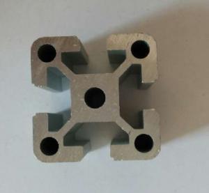 Cars , Trains Machinery Industrial Black , Golden Aluminium Profile PVDF Coating Manufactures