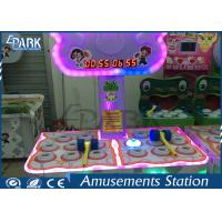 100W Whack A Mole Coin Operated Arcade Machines 2 Players 121 * 70 * 120 CM Manufactures