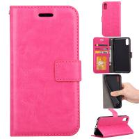Quality Apple Iphone Crazy Horse Leather Wallet Case Three Id Card Slot For Iphonex Iphone 10 for sale