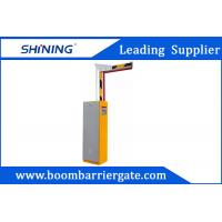 Automatic Parking Lot Boom Barrier Gate Easy Open With 6m Boom Folding Arm Manufactures