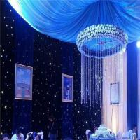 Professional Remote Controlled LED Star Curtain Backdrop led star vision curtain Manufactures