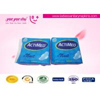 Good Absorption Overnight Sanitary Pads Disposable For Menstrual Period Manufactures