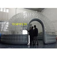 0.8mm PVC Transparent Clear Dome Inflatable Bubble Tent Heat Seal Double Layers Manufactures