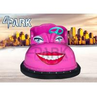 Interactive Pink Kids Bumper Car With Shoe Shape Beautiful Led Lights Manufactures