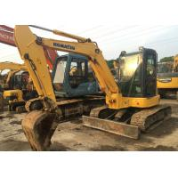 Japan original used midi excavator komatsu pc55mr-2 excavator with balde Manufactures