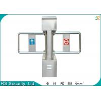 Double Retractable Swing Barrier Gate Self Examine On Breakdown Manufactures