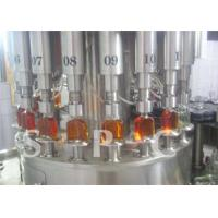 Quality High Speed Beverage Filling Machine Glass Bottle Beer Liquid Filling Equipment for sale
