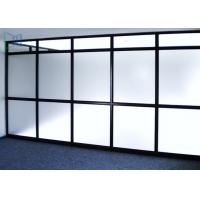 Size Customized Aluminium Frame Partition Walls Waterproof For Residential Manufactures