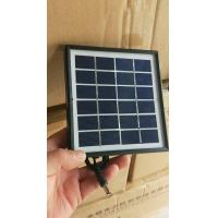Chinese Cheapest Glass Laminated Solar Panels Solar Photovoltaic Panels Solar Panel Cell ZW-4W laminate solar panels Manufactures
