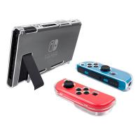 Anti-Shock and Anti-Scratch Crystal Clear Shell Cover Case for Nintendo Switch Console and Joy-cons Manufactures