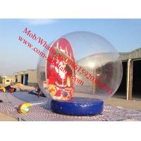 inflatable santo clause christmas snow globe Manufactures