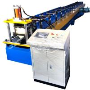 Water Gutter Rolling Forming Machine Dx51 Half Round 8 - 10m / Min Speed Manufactures