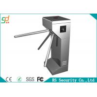 304 Stainless Steel Controlled Access Turnstiles High Safety Gate Manufactures