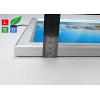 Quality High Brightness LED Snap Frame Light Box Low Heat Wall Mounted For Coffee Bar for sale