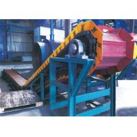 China Foundry Continuous Casting Apron Chain Conveyor , Apron Feeder In Coal Handling Plant on sale