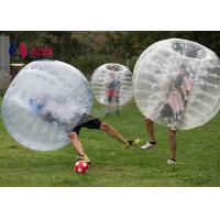 CE 1.2m Pvc Inflatable Sports Equipment Football Suit Human Hamster Ball Manufactures
