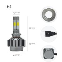 China Energy Saving Led Headlight Conversion Kit For Cars V8 H4 40 Watt 4000LM on sale