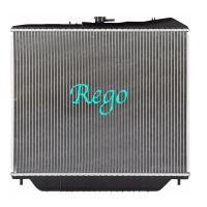 Isuzu Trooper Cooling Radiator Replacement Brazed Aluminum Extruded Core Manufactures