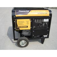 3 Phase Open Type Copper Wire 15HP Home Gasoline Generator With Handles And Wheels Manufactures