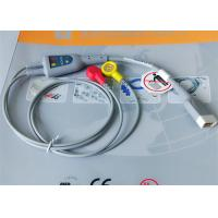 Snap Electrode Holter ECG Cable 2 Leads Medical Device Accessories For Patient Monitor Manufactures