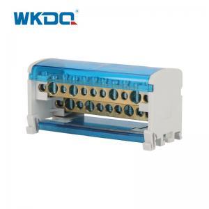 UK 211 DIN Rail Power Distribution Terminal , Electrical Power Distribution Block Manufactures