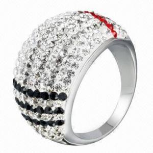 Crystal Ring, OEM/ODM Orders Welcomed Manufactures