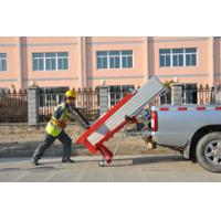 Compact / portable Manual Material Lift with Manual one speed winch Manufactures